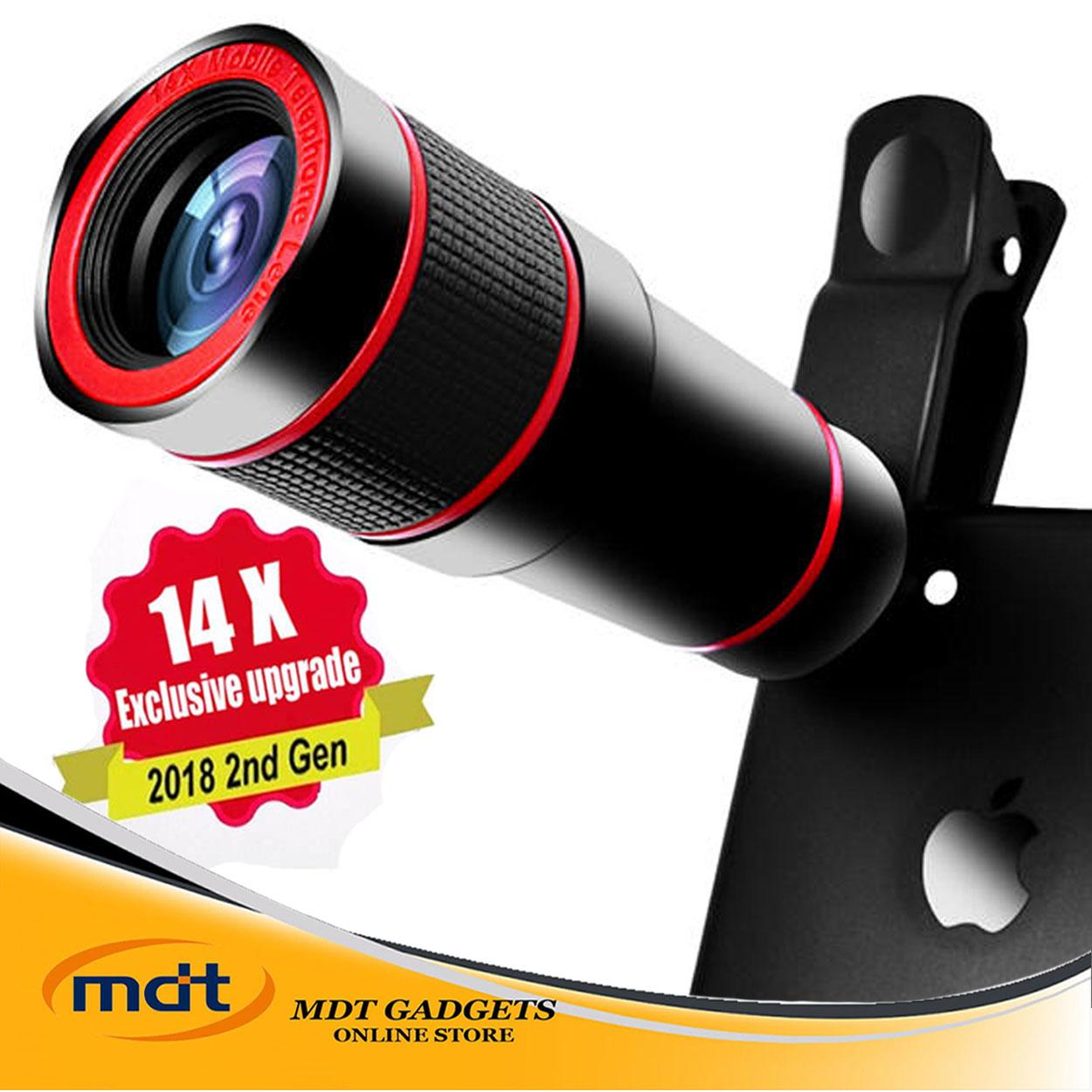 2018 NEW ARRIVAL 14X ZOOM 4K HD TELEPHOTO PHONE LENS OPTICAL TELESCOPE CAMERA FOR SMARTPHONE IPHONE SAMSUNG HUAWEI XIAOMI MOBILE