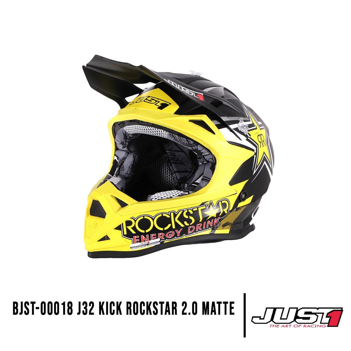 f5c83c7f Product details of BJST 00018 JUST1 J32 PRO ROCKSTAR 2.0 Matte Motocross  Helmet