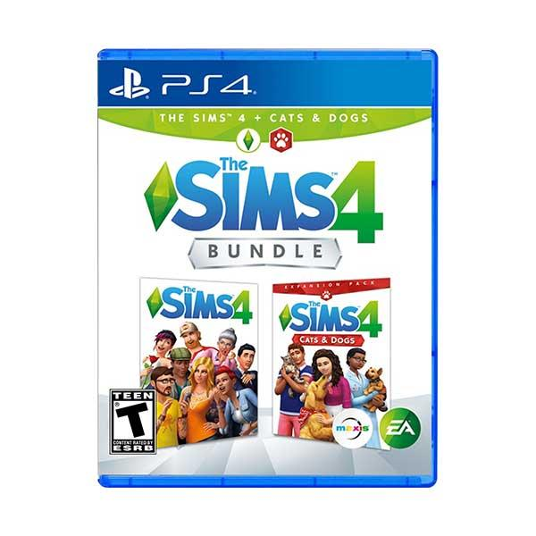 PS4 The Sims 4 Plus Cats and Dogs Bundle [R3]