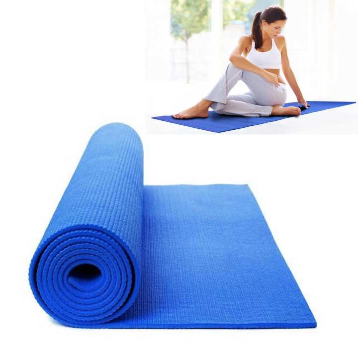 "Yoga Mat 68""x24"" (Dark Blue): Buy Sell Online Yoga Mats"