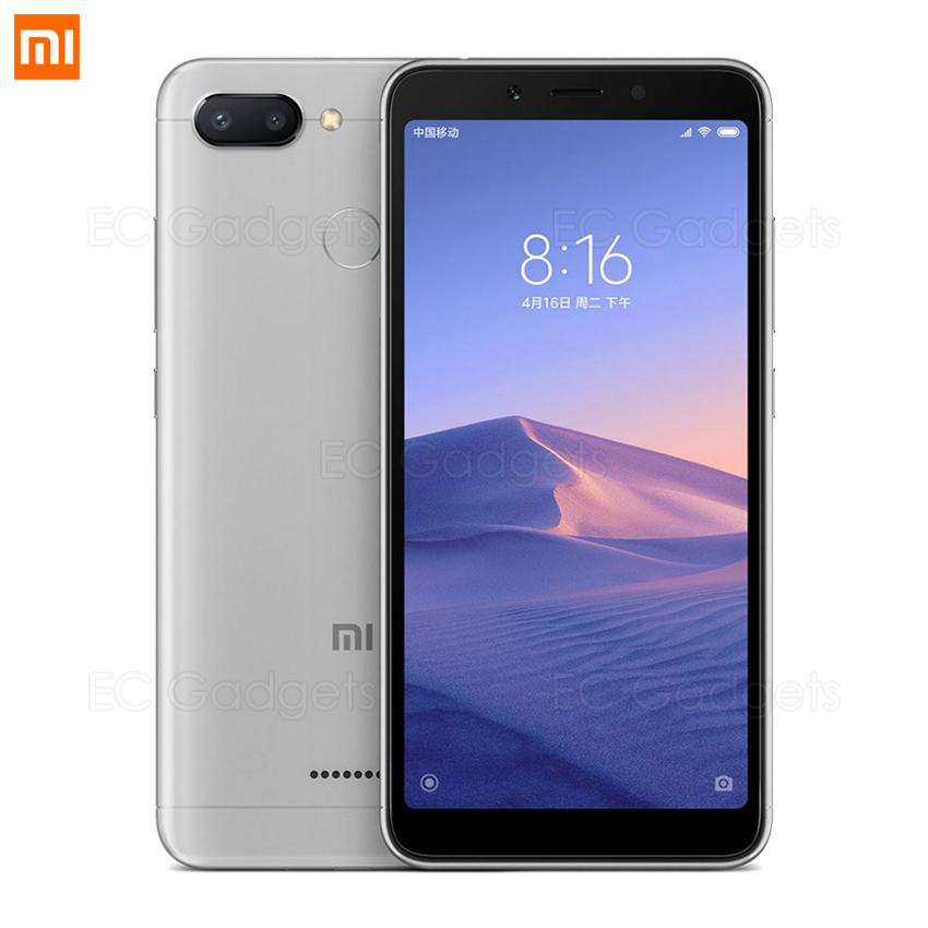 Xiaomi Redmi 6A 2GB RAM 16GB ROM (FREE Tempered Glass) Original Chinese ROM Grey