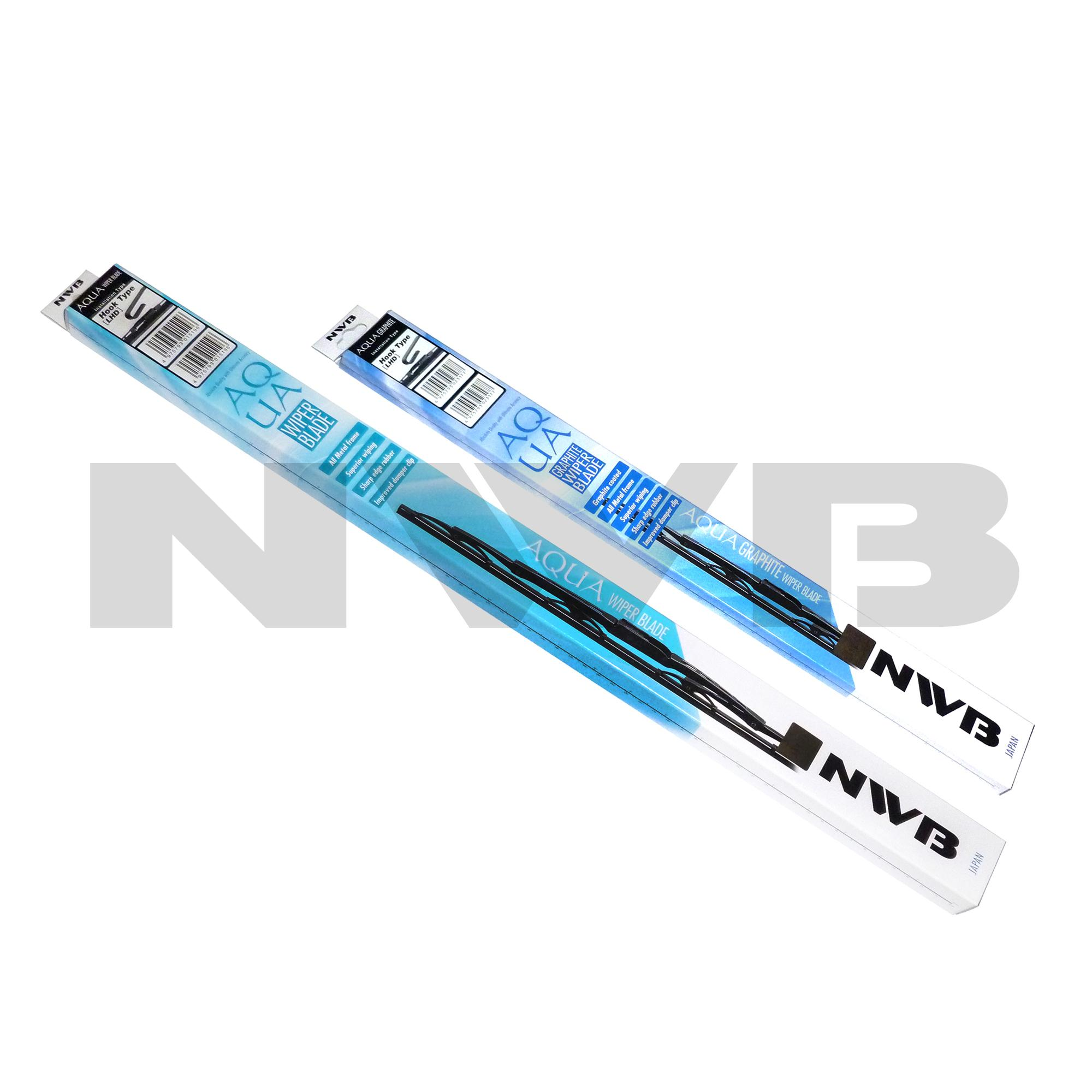 NWB AQUA Wiper Blade for Toyota Vios 2008-2016 - (SET)