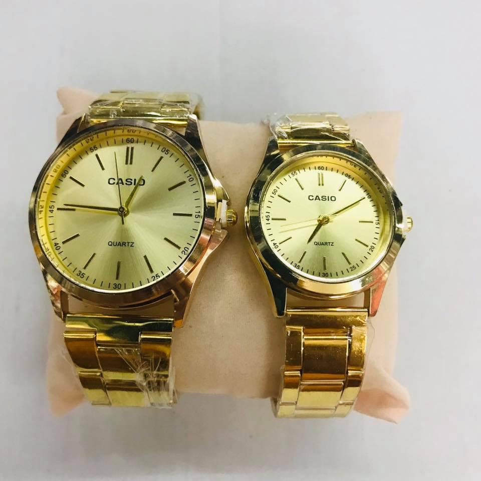 Casio Couple Watch Stainless