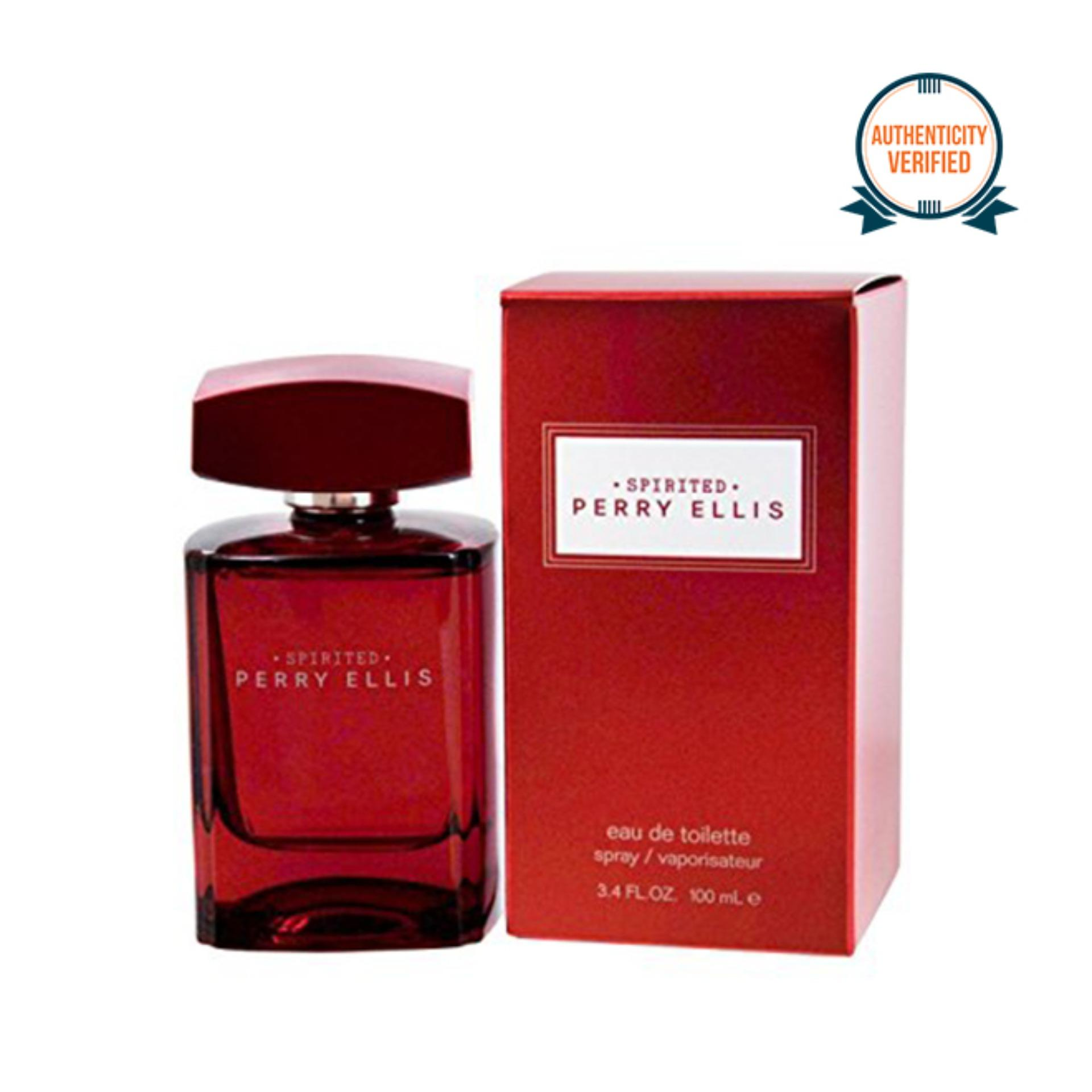 Perry Ellis Spirited Eau de Toilette for Men 100ml
