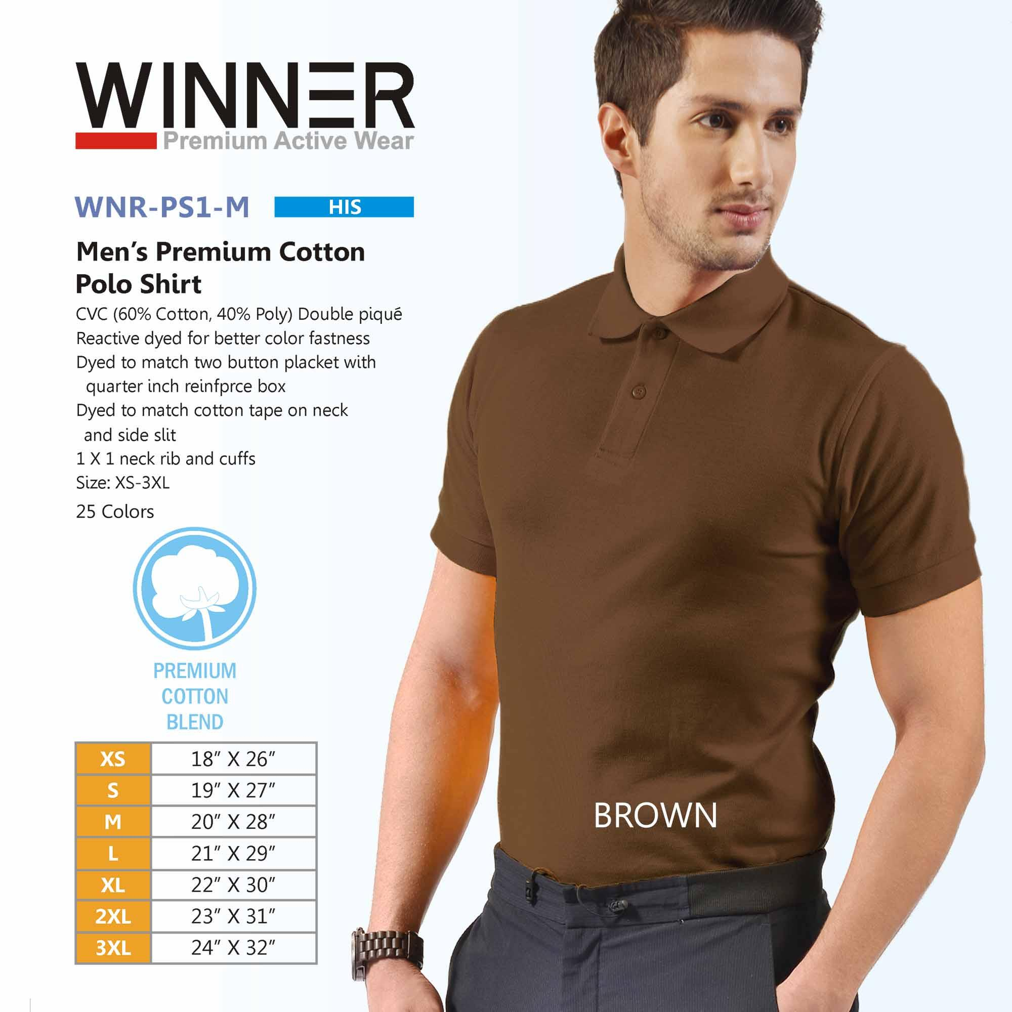 shop for genuine attractive fashion cost charm Winner Premium Active Wear-Mens