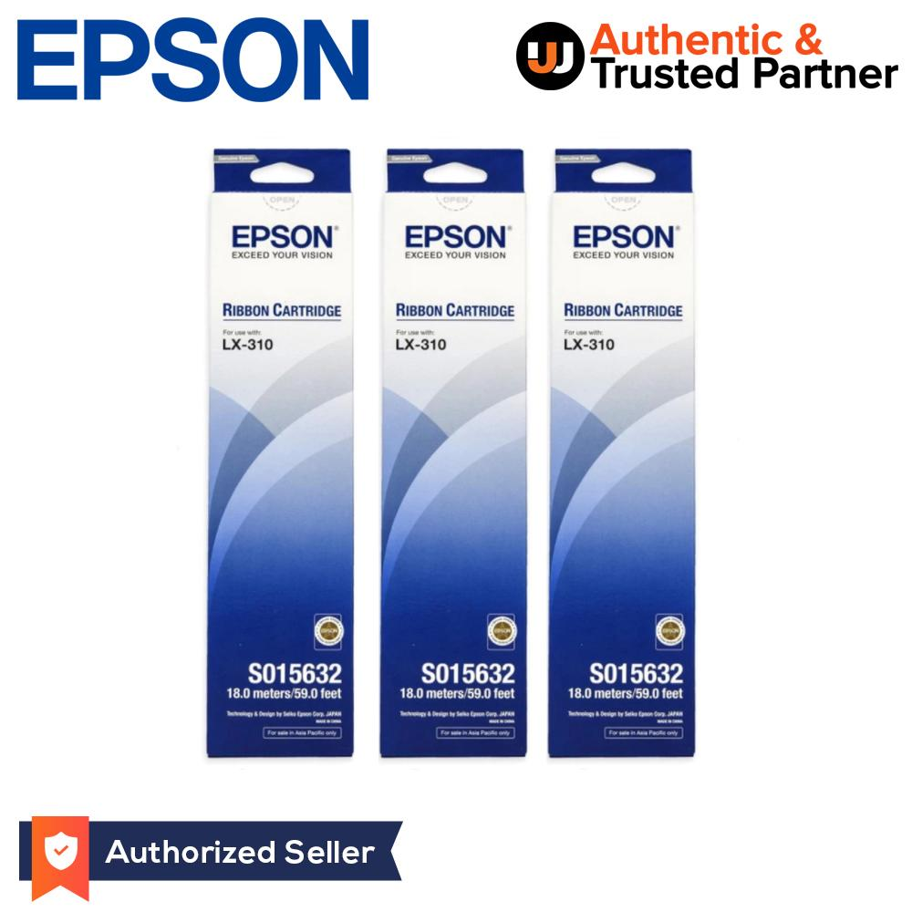 Epson S015632 Lx 310 Ribbon Cartridge Pack Of 3 Black Lazada Ph Printer