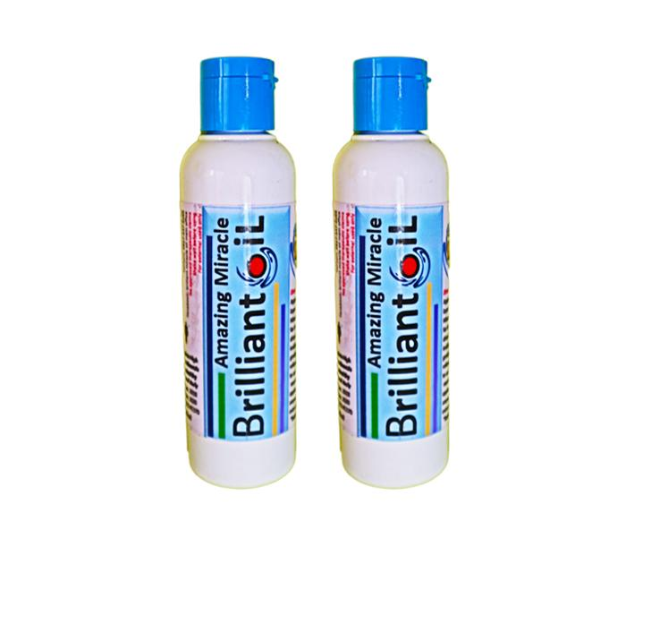 The Amazing Brilliant Oil Powdery Scent 100ml Set of 2