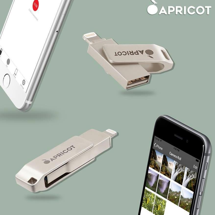 Apricot OTG for IOS APPLE Devices (iphone and ipad) 16GB