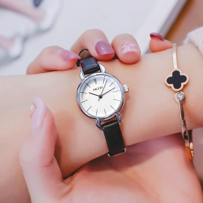 KEZZI kezzi Product Fashion Simple Small Delicacy Versatile women Belt Quartz watch watches Waterproof Student's watch watches
