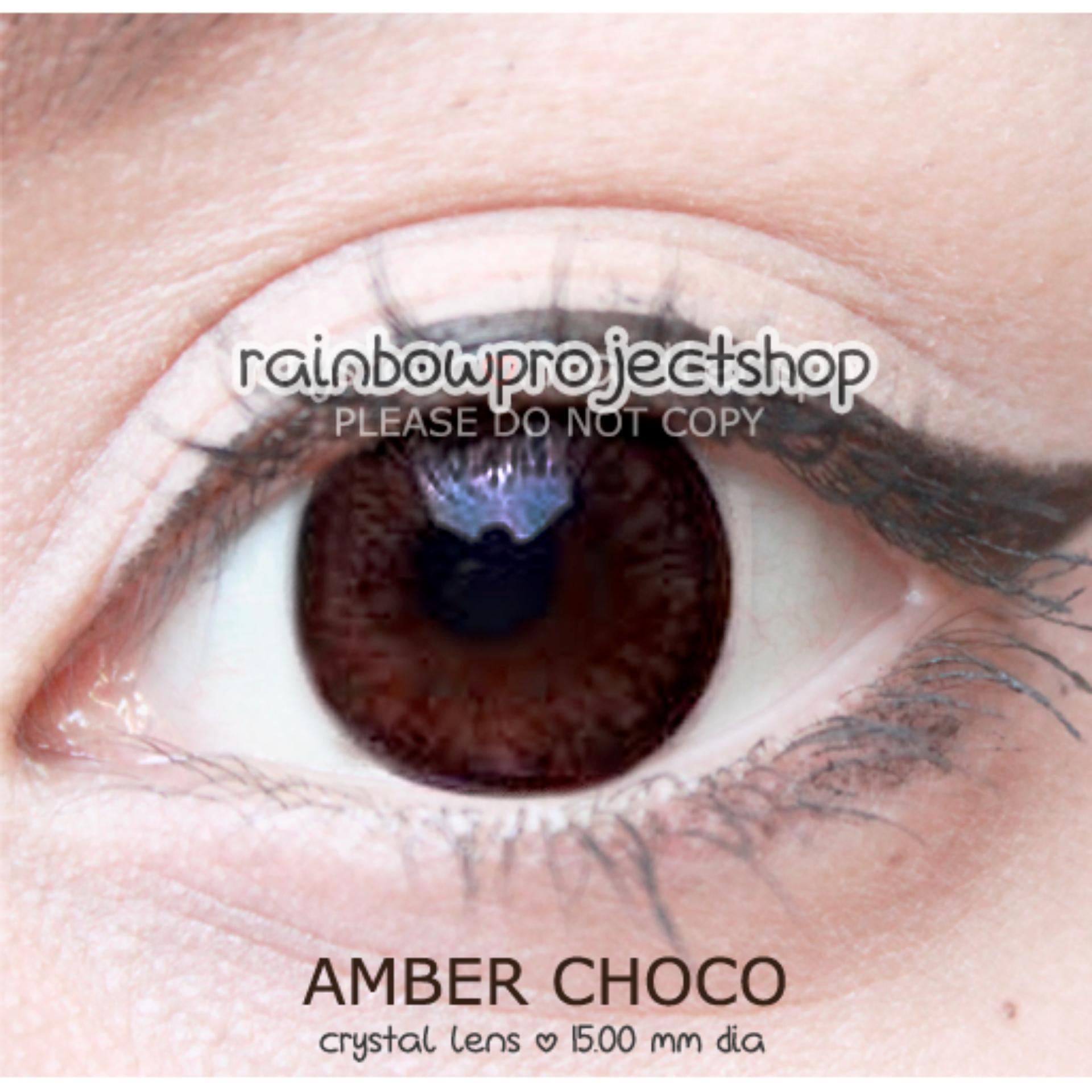 Amber Choco by Crystal Contact Lens