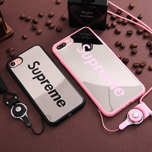best service bb988 c8a1e iPhone Supreme Rubberized Soft Case for Iphone 5 5S 5SE 6 6S 7 8 Plus X XR  Xs Max Case Bendable Acrylic Case Mirror Case