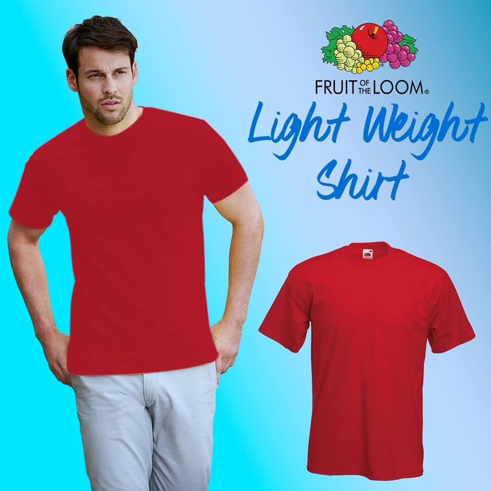 21ce288e Product details of Fruit of the Loom Unisex Classic T-shirt tshirt plain  tee tees Mens t shirt shirts for men tshirts t-shirts sale plain top Red