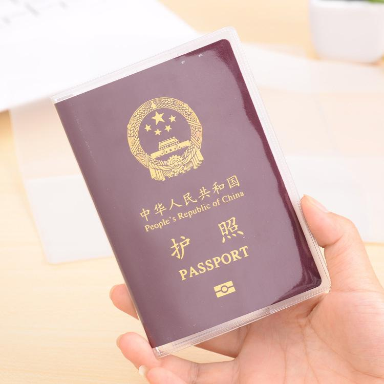Coin Purses & Holders Card & Id Holders 1pcs New Transparent Passport Cover Waterproof Passport Bags Passport Protective Sleeve Card Id Holder