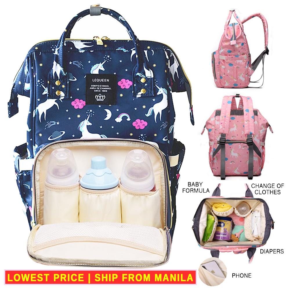 4970726ab382 Unicorn Diaper Bag Mommy Bag Nappy Bag Mummy Bag Diaper Backpack Nursing  Bag Multi-Functional Baby Travel Bag Nappy Changing Bag Large Waterproof ...