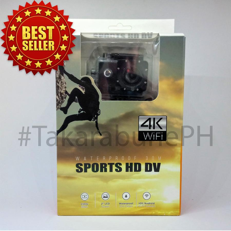YM0188 4K WiFi Sports Action Camera - With Dashcam function