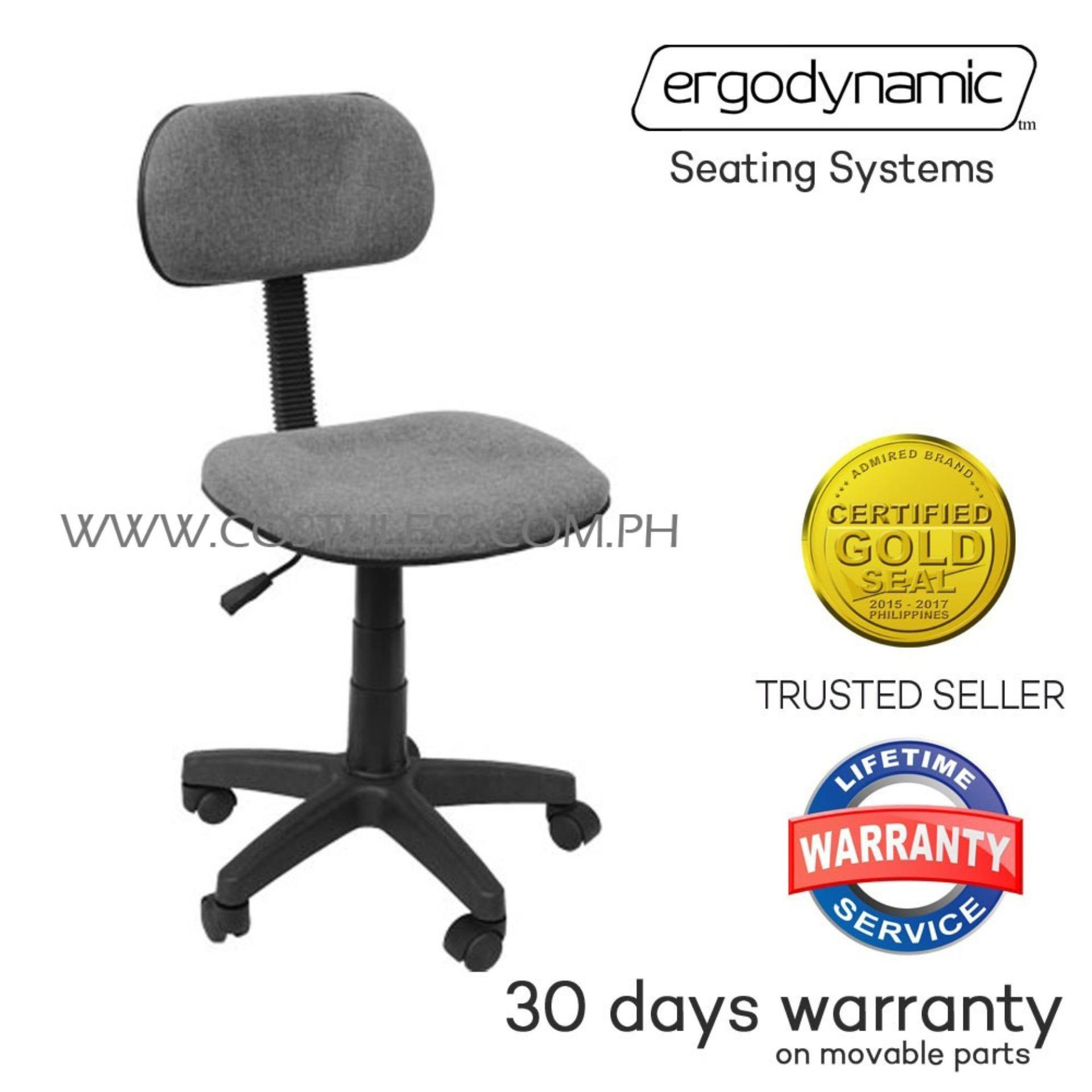 Ergodynamic OC-101GRY Home Office Chairs (Grey)