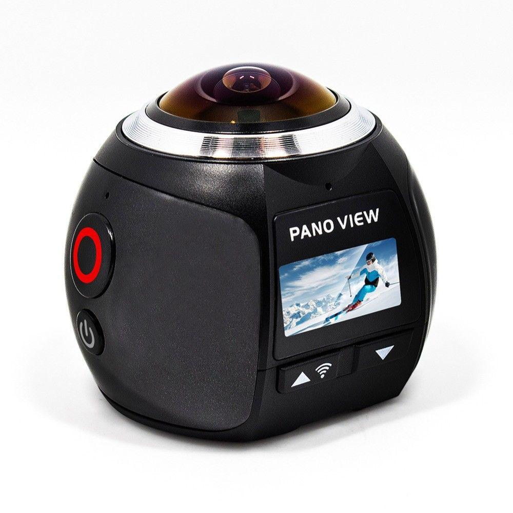 V1 camera 360 Action Camera Wifi 2448*2448 Ultra HD Mini Panorama Camera 360 Degree Sport Driving VR Camera
