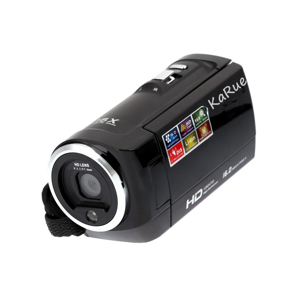 SB HD 720P Digital Camera HDV Video Camera Camcorder 16MP 16x Zoom COMS Sensor 270 Degree 2.7 Inch