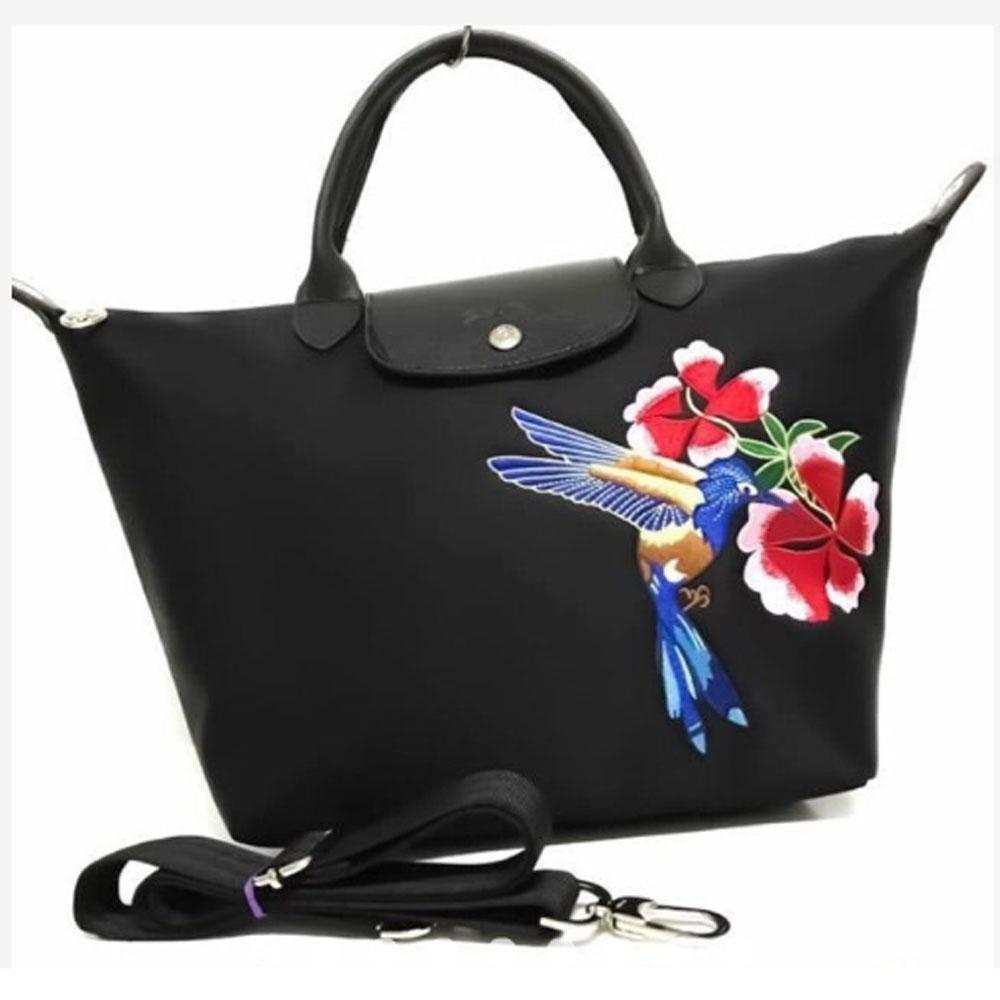 WOMEN'S LONG CHAMP TOTE BAG (Small)