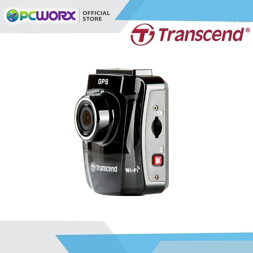 Transcend Drivepro 220 Wi-Fi Ready Dash Cam With Dash Cam Hard Wire Kit