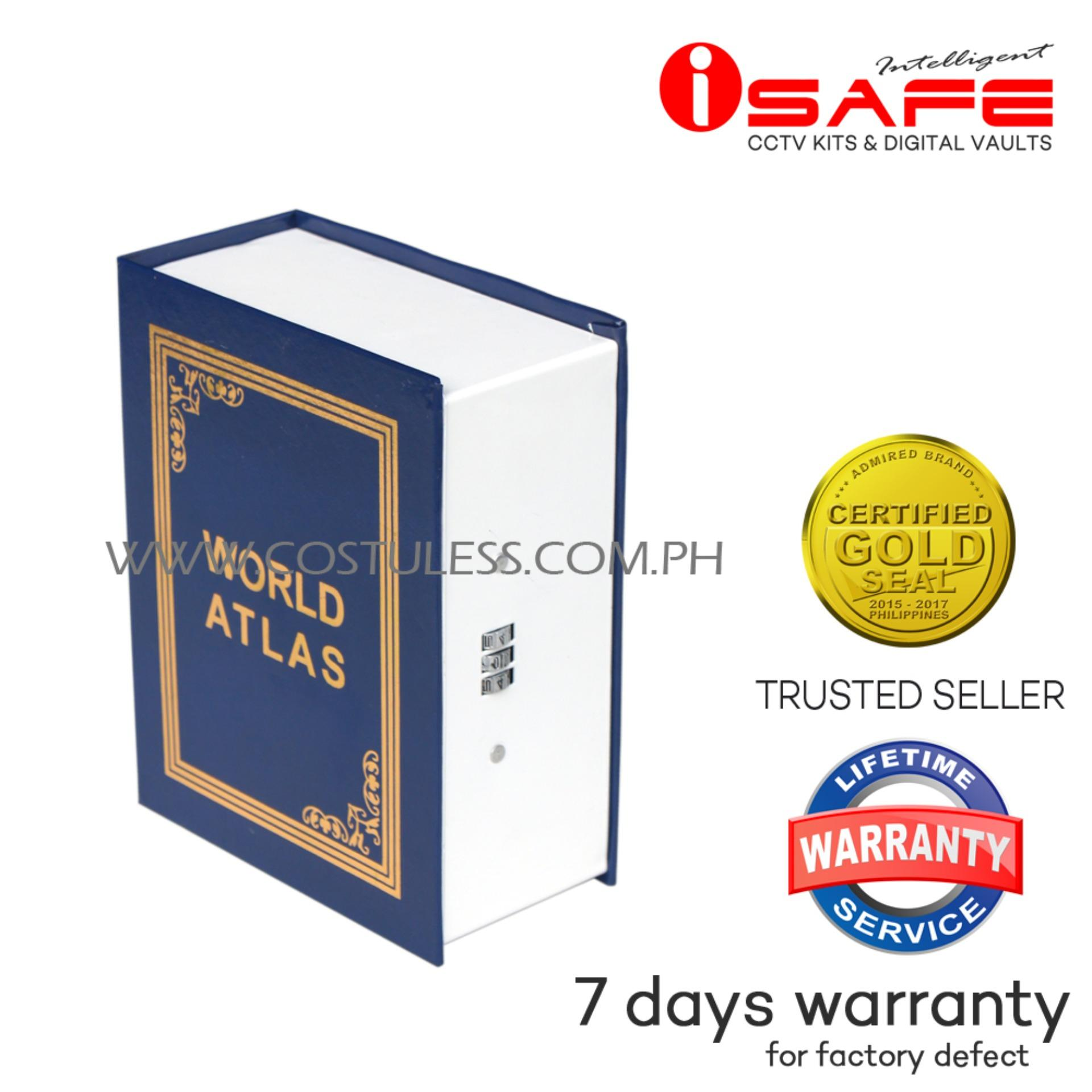iSAFE BS-M Medium Book Safe (Blue)
