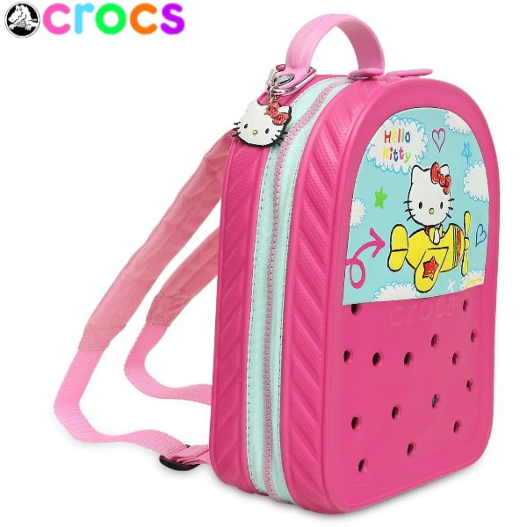 12cd46c0c Crocs Kids Hello Kitty Backpack - One size fits all - PINK + FREEBIE (  Pencil