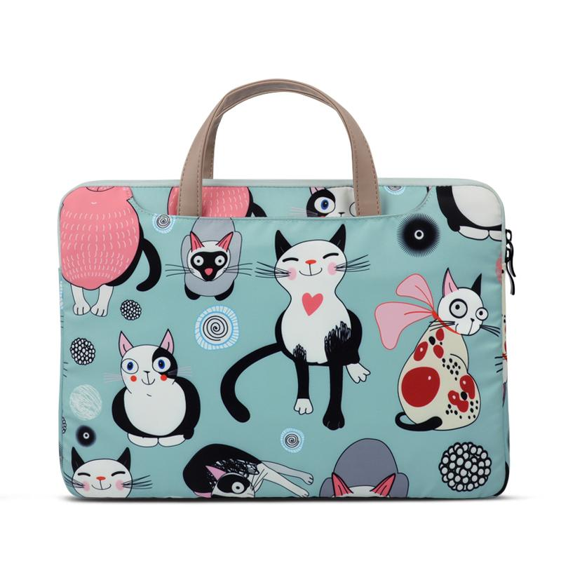 Laptop Computer Bag Hand Fashion 15.6-Inch XIAOMI Female Apple Dell 12 Cute Air13 Hipster 14 Huawei MacBook Honor Matebook Asus Pro cartoon INS Originality