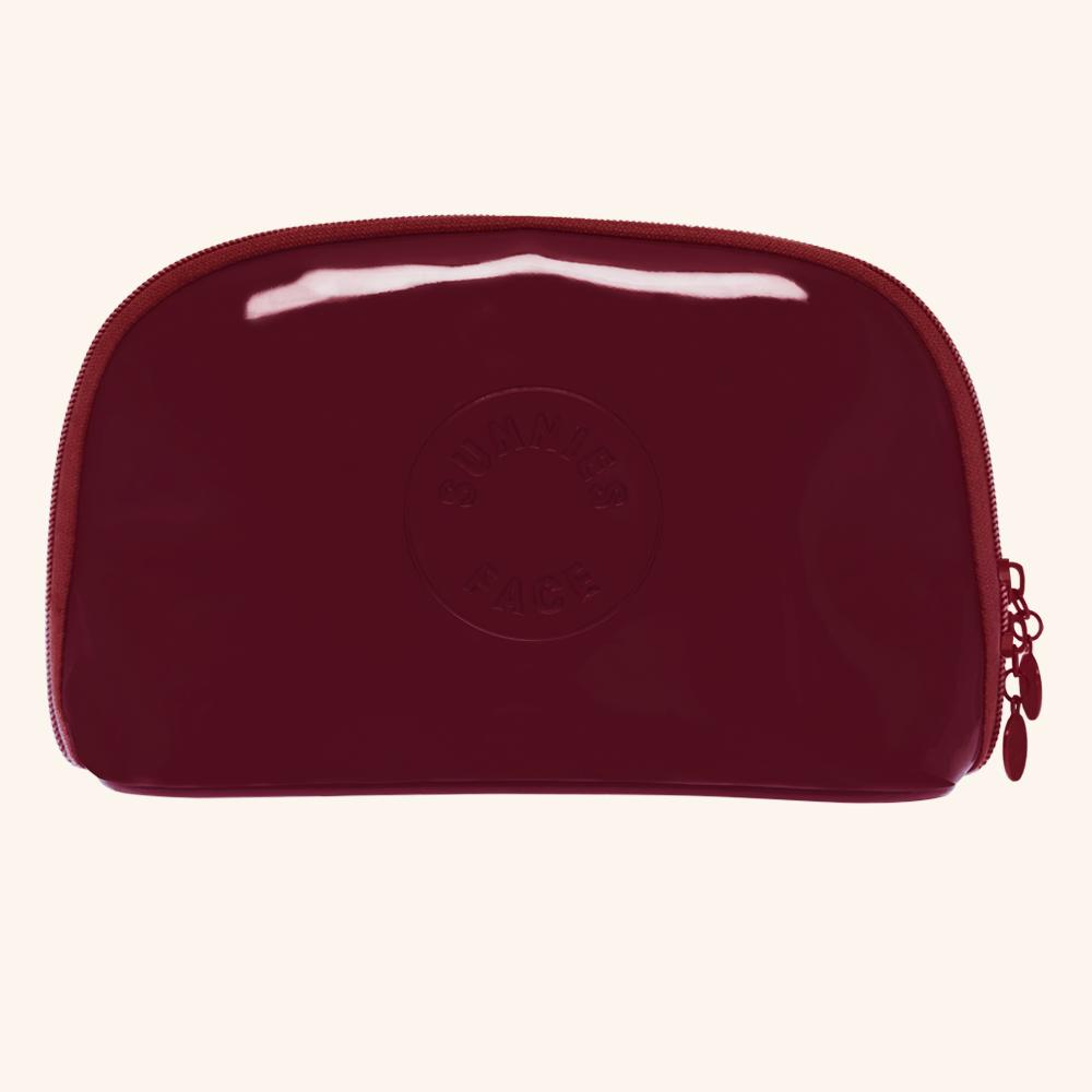 Sunnies Face Holiday Patent Pouch (Rich Red) Philippines