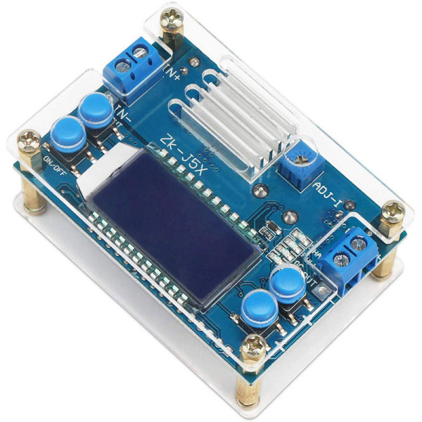 Giá 5A CNC Step-Down Module DC-DC Adjustable Constant Voltage Constant Current LCD Multi Display Power