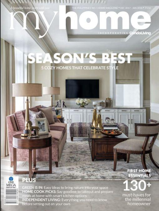 Myhome December - January 2018 By One Mega Group Inc..