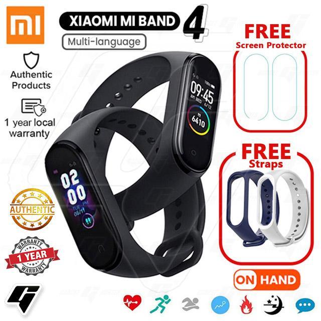 Xiaomi Mi Band 4 Smart Watch Fitness Tracker Bracelet AMOLED Waterproof  Bluetooth 5 0 with Freebies