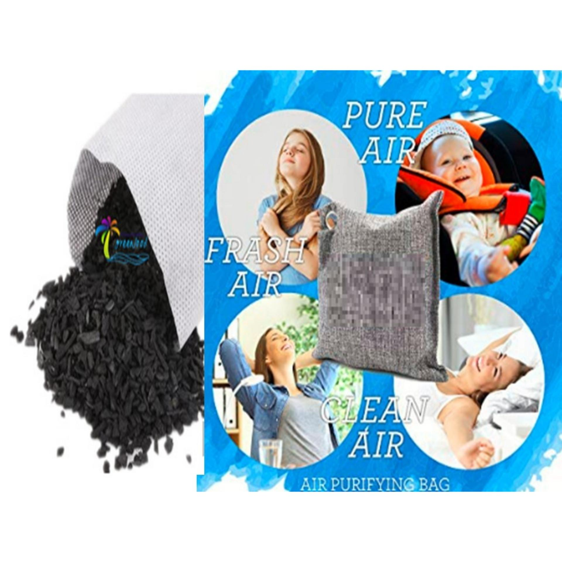 AMAZING BAMBOO CHARCOAL AIR PURIFYING BAG ODOR & ALLERGENS ELIMINATOR image