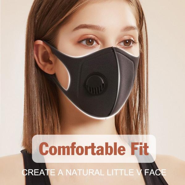 【Lzdam】(FREE SHIPPING)PM2.5 Anti-fog Respirator Air Purifying Mouth Muffle Carbon corona Filter Dust Haze Fog Anti Anti-spitting Trainning Ma sk