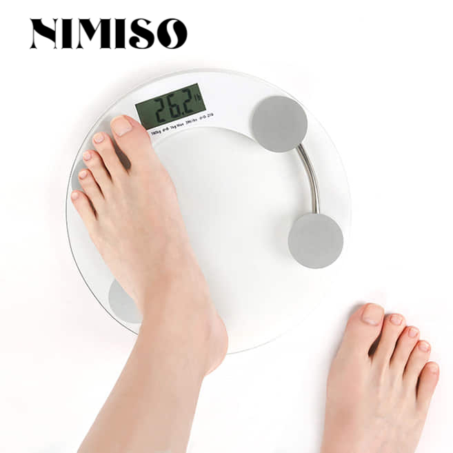 Round Electronic Weight Scale Household