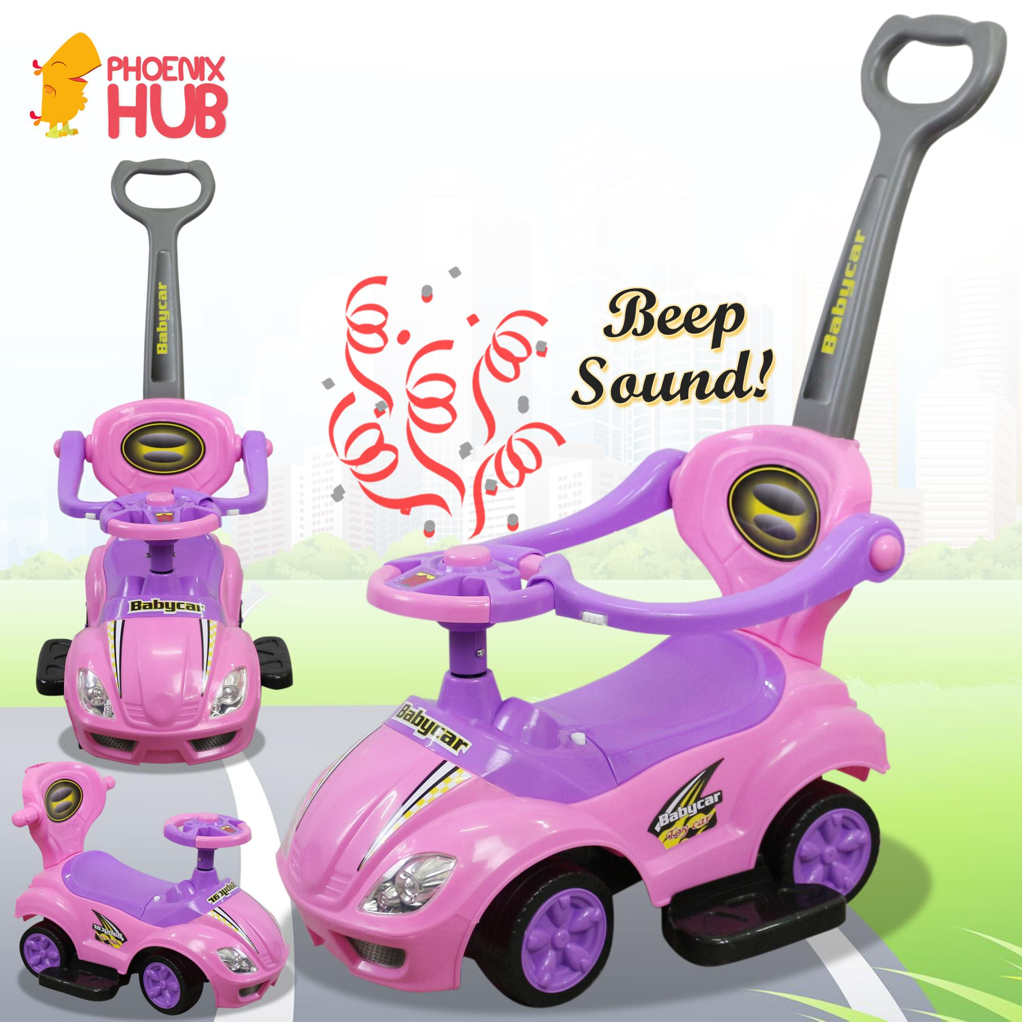 Phoenixhub Bebemio Deluxe Mega Riding Toy Car Baby Car Ride-On Push Stroller Children Ride-On With Music By Phoenix Hub.