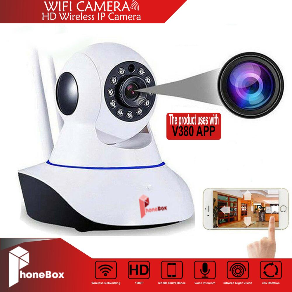 V380 PRO Smart HD 1080P P2P Night Vision IP Camera Wireless security with 2  antenna Baby Monitor ip cam CCTV