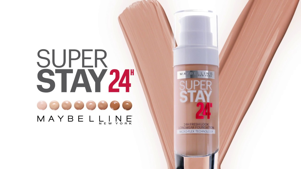 Maybelinesuperstay 24h Full Coverage Foundation Most Long Lasting Liquid Foundation Super Stay Liquid Foundation Alm Cosmetics Lazada Ph