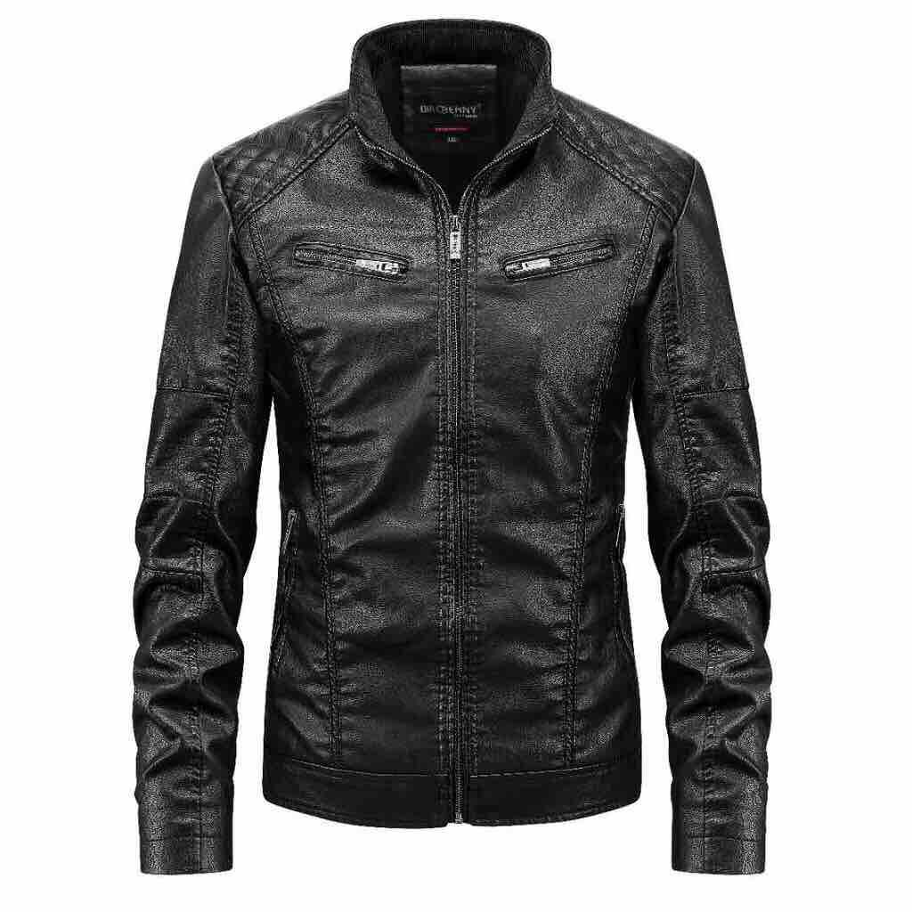 Style Motorcycle Leather Jacket For Mens By Vs Fashion.