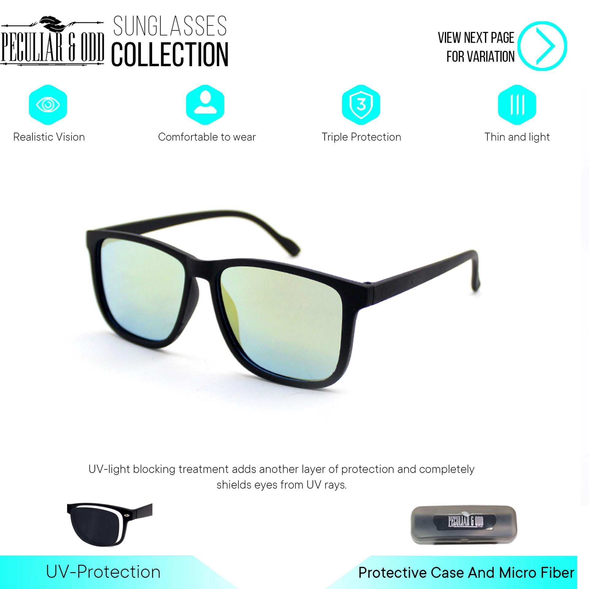 c05efd7d3507 Peculiar Oversized Square Classic Sunglass 3476 Eyewear Shades- Peculiar  and Odd Collection