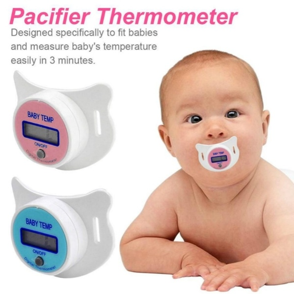 Safety Health Nipple Temperature Baby Infant LCD Digital Pacifier Thermometer YP