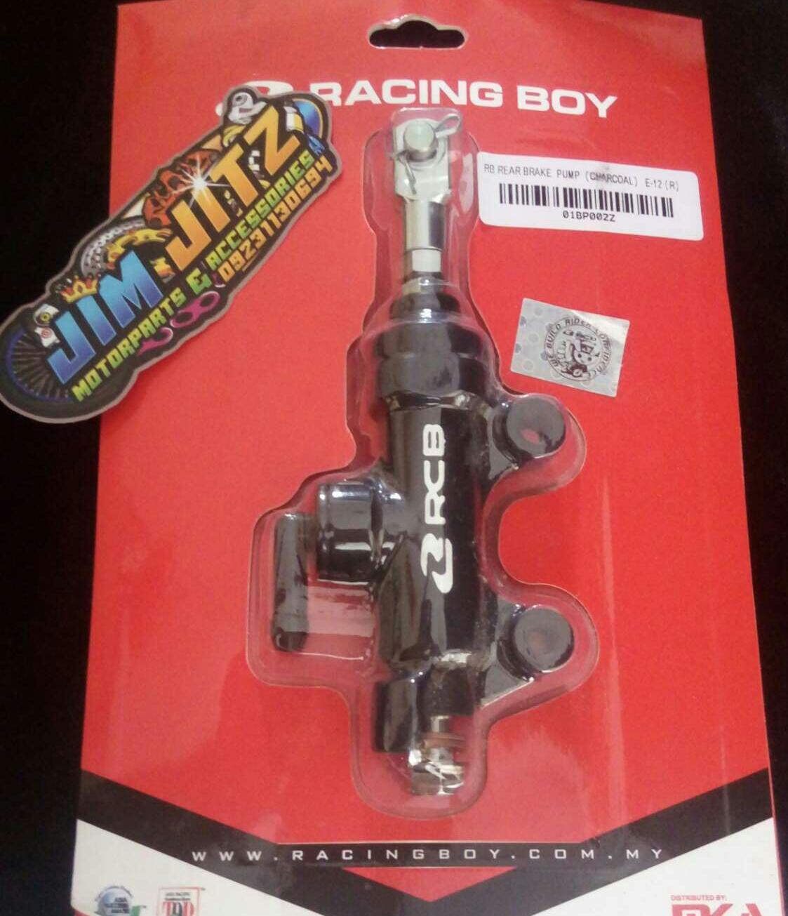 Rcb Rear Master Pumpra By Jitz Motorcycle Shop.