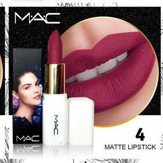 247 Mac New White Matte Lipstick By 247shop.