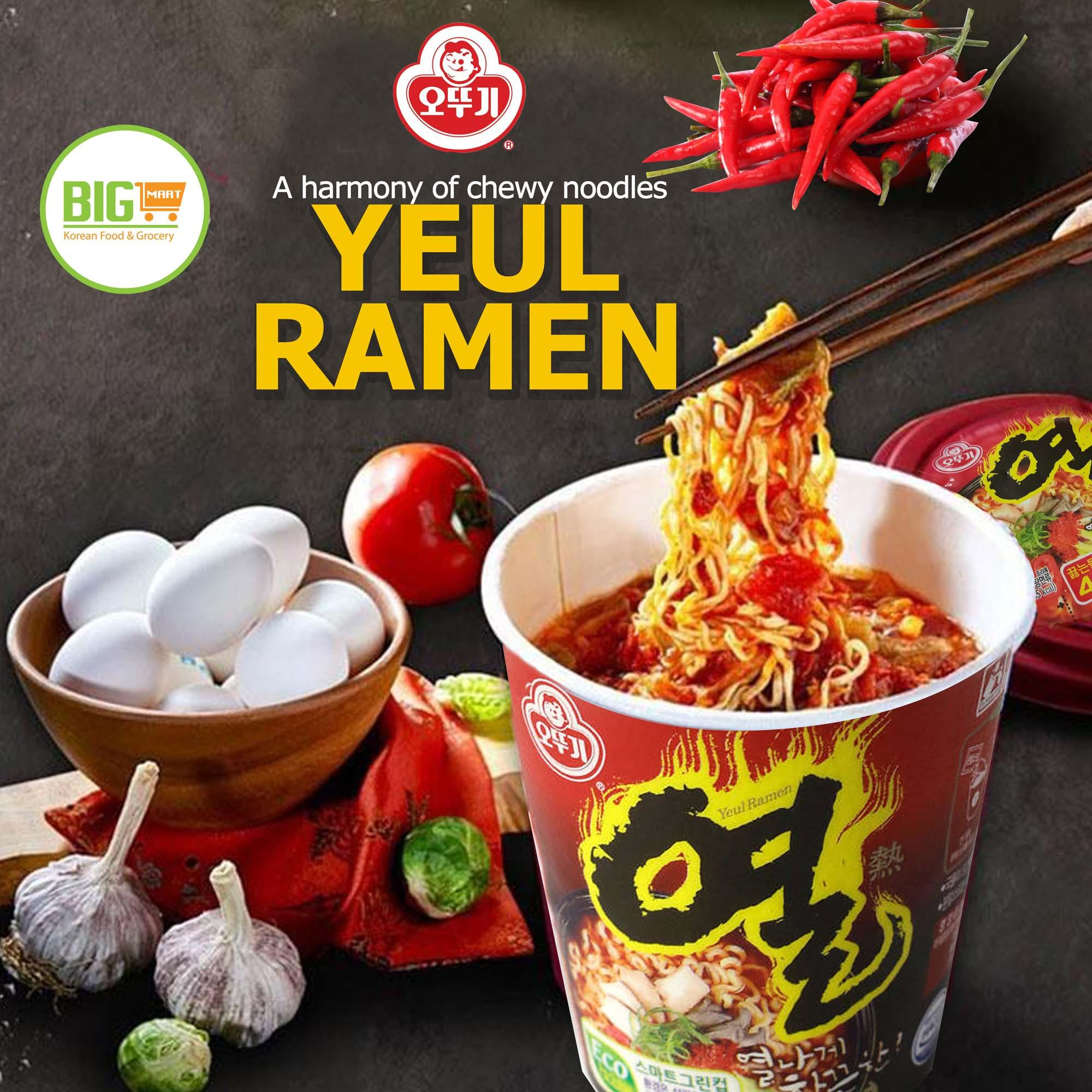 Image result for Ottogi Yeul Ramen Cup 62g