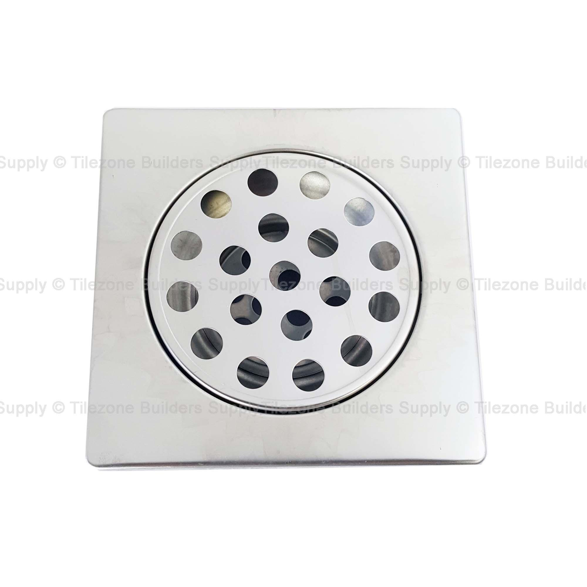 Tz 4 X Inches Stainless Floor Drain