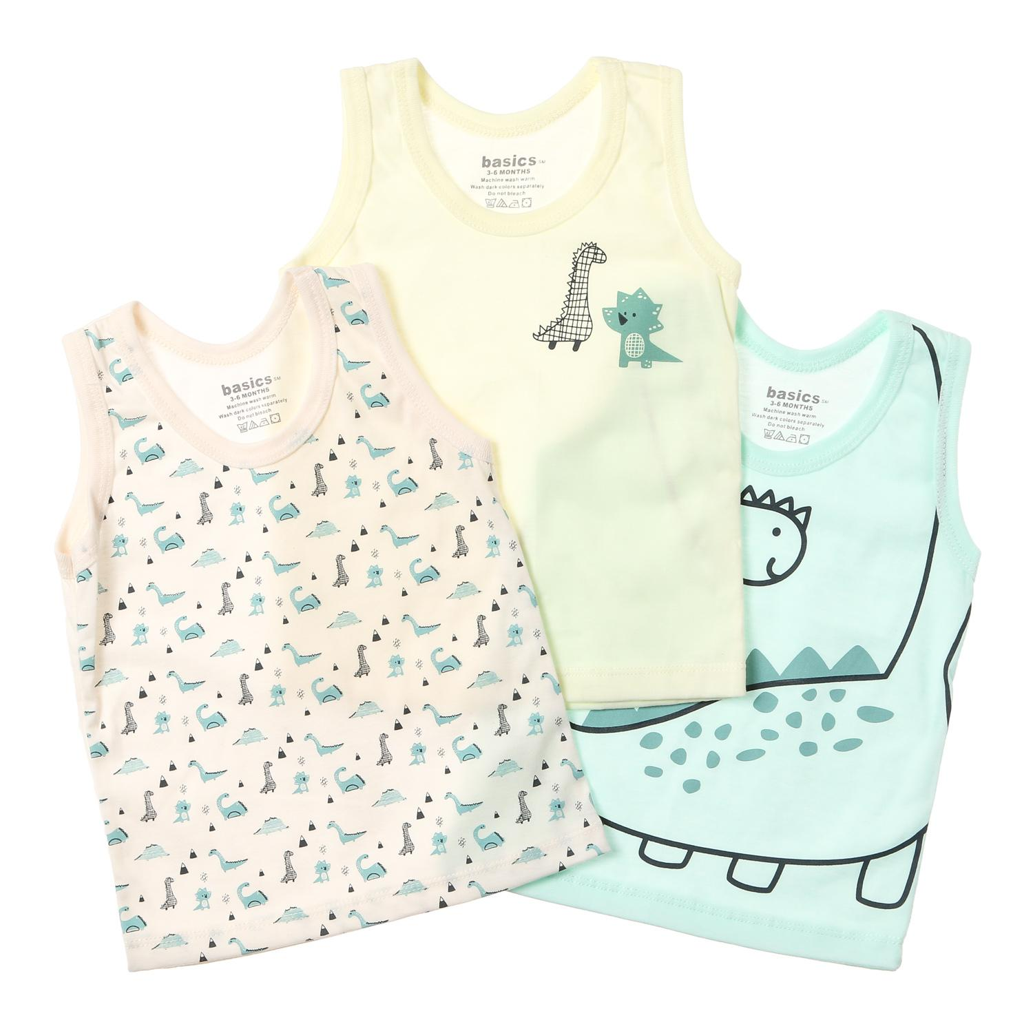 5f3a99d65802 Clothing. 68120 items found in Clothing. SM Basics Baby Boys 3-piece  Dinosaur Tank Set