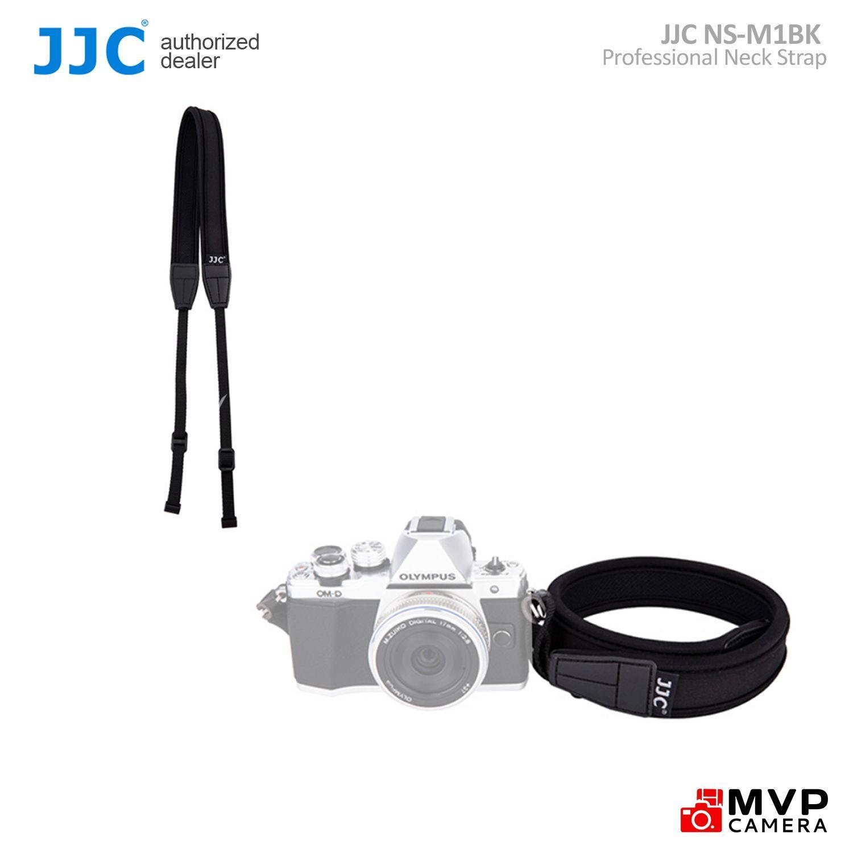 JJC /'NS-M1BK/' Neoprene Neck Strap for Mirrorless Camera