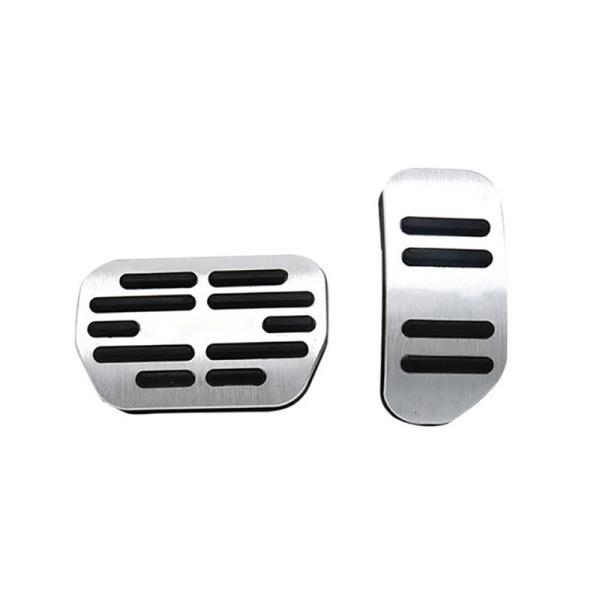 Aluminum Brake Accelerator Gas Pedal Cover for Toyota RAV4 XA40 2013-2018 Accessories, Anti Slip Foot Pedal Pad