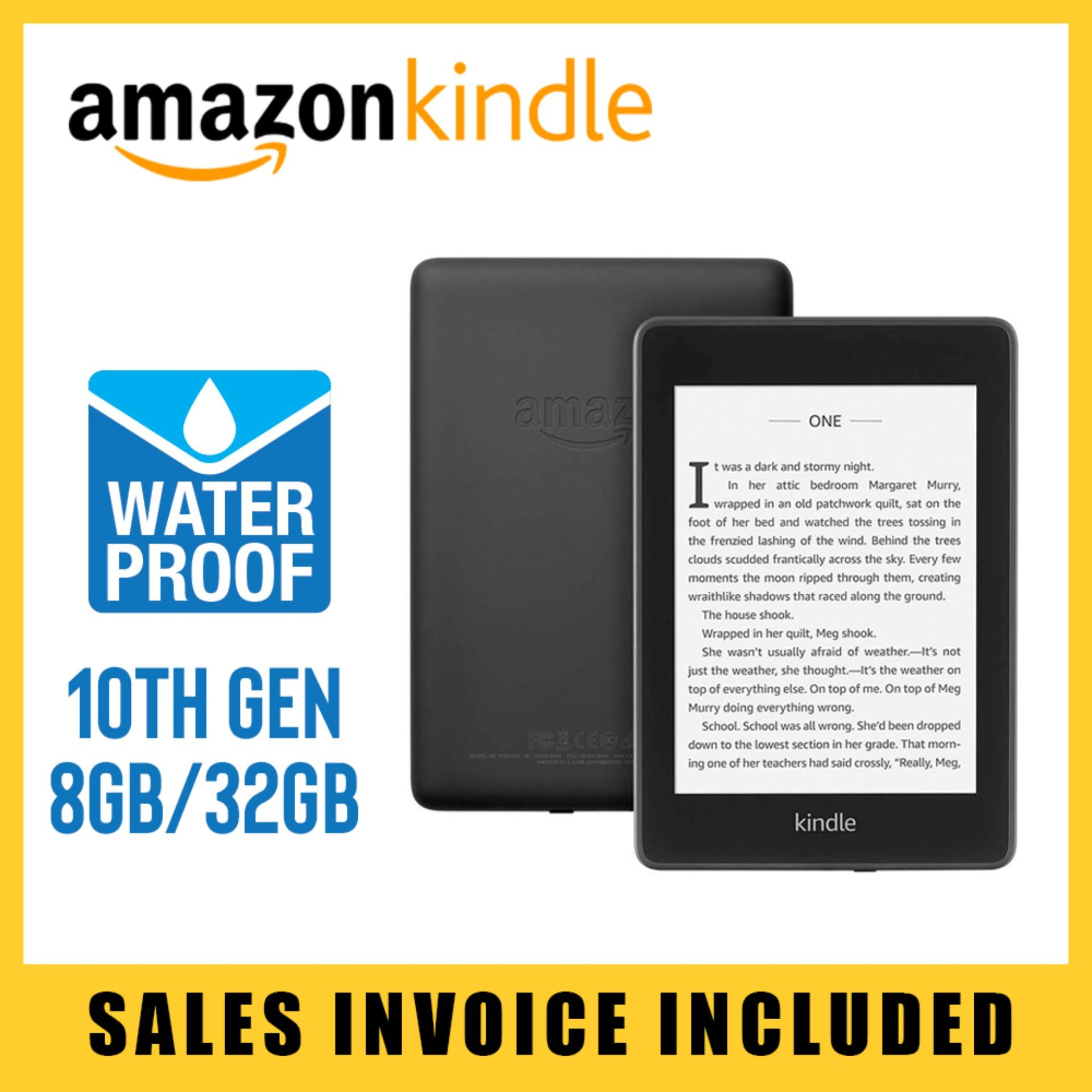 Amazon Kindle Paperwhite 2018 10th Gen 6 inch Waterproof High Resolution  Display Wifi Built in Light E-Reader 300PPI Display