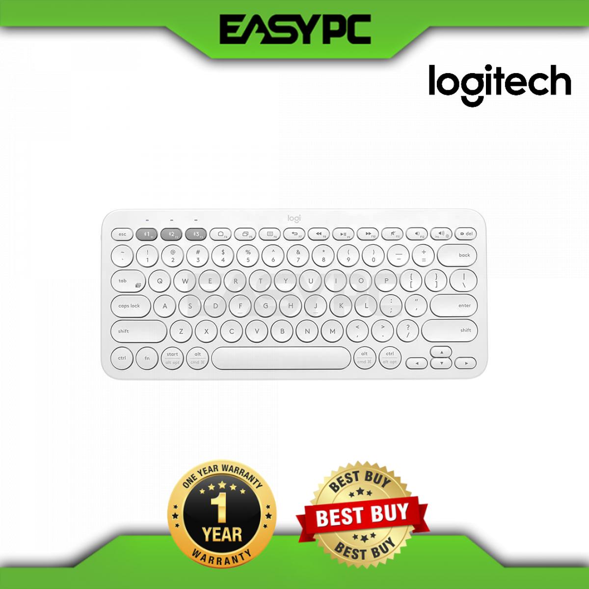 Logitech K380 Multi Device Bluetooth Keyboard Off White K380 Multi Device Bluetooth Keyboard Lazada Ph