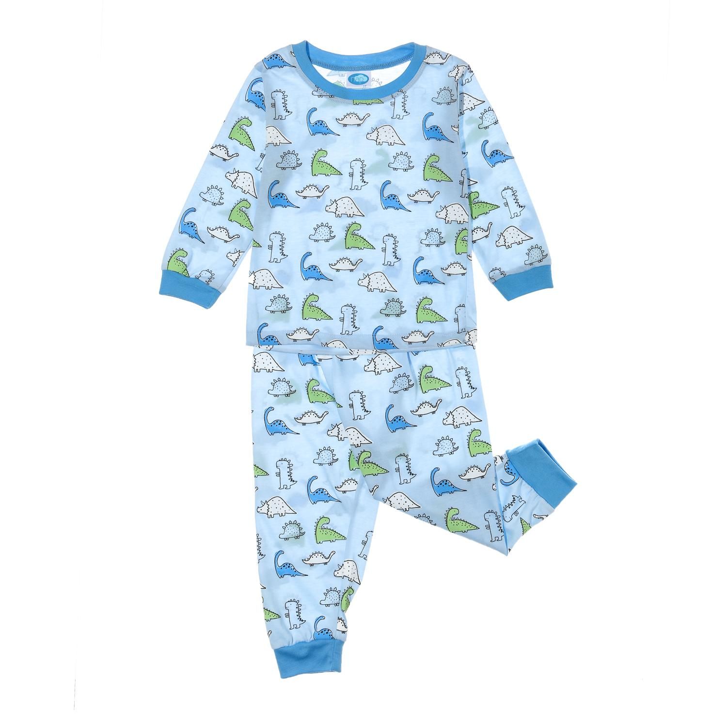 Nap Toddler Boys Dinos Pajama Set In Blue By The Sm Store.